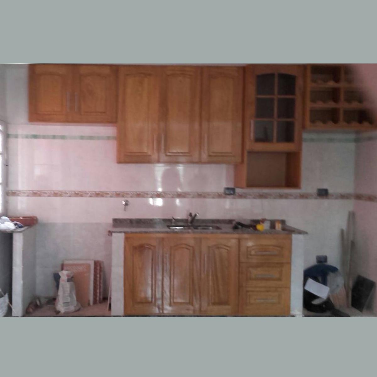 Muebles de Cocina : Alacena y bajo mesada - Modelo 05